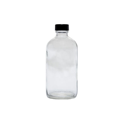Cre8tion Clear Glass Bottle 32oz - 12 pcs./case