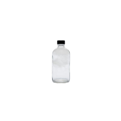 Cre8tion Clear Glass Bottle 8oz. - 12 pcs./case