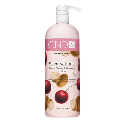 CND Scentsations Lotion - Black Cherry & Nutmeg 31oz
