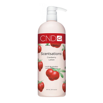 CND Scentsations Lotion - Cranberry 31oz