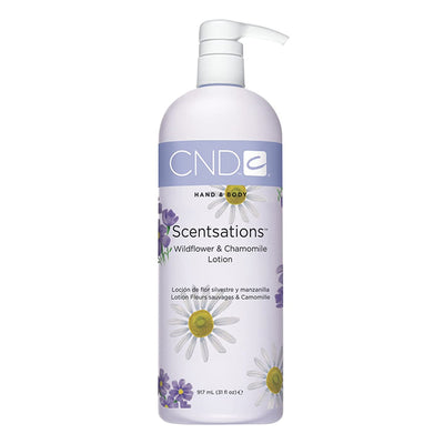 CND Scentsations Lotion - Wildflower & Chamomile 31oz