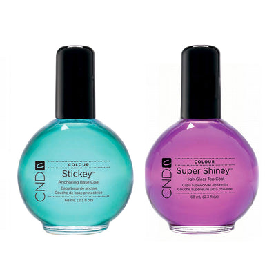 CND Stickey - Base Coat/ Super Shiny - Top Coat 2.3oz