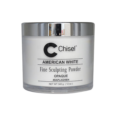 Chisel Acrylic Powder - American White 12oz