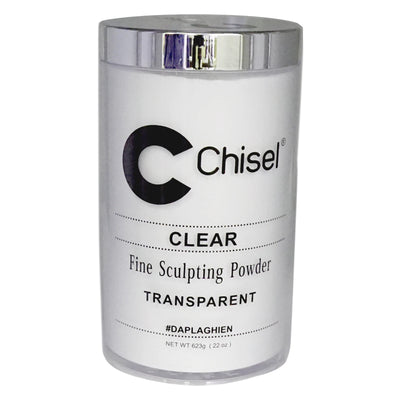 Chisel Acrylic Powder - Clear 22oz