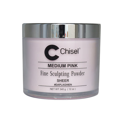 Chisel Acrylic Powder - Medium Pink 12oz