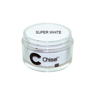 Chisel Dip Powder - Super White 2oz