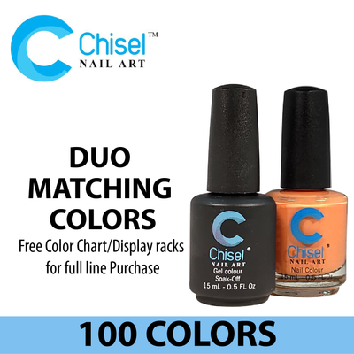 Chisel Duo Matching Colors (Gel Polish & Nail Lacquer)