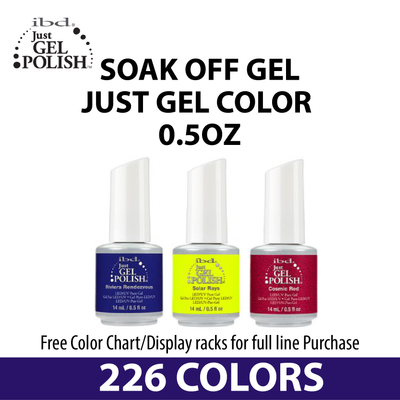 IBD Soak Off Gel - Just Gel Color 0.5oz