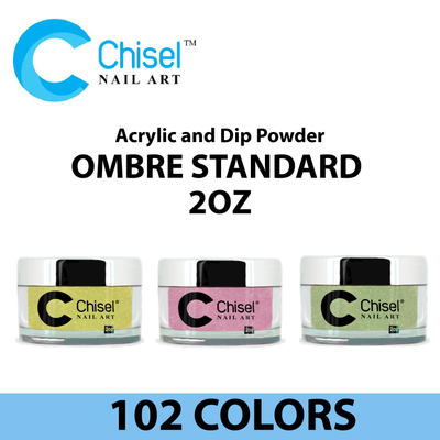 Chisel Acrylic and Dip Powder - 2IN1 Ombre Standard 2oz