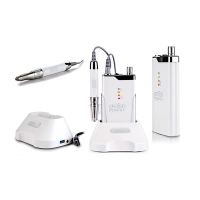 Gelish Go File Electric Nail Drill White