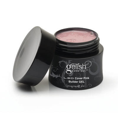 Gelish Hard Gel - Cover Pink Builder Gel 0.5oz