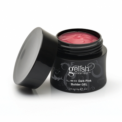 Gelish Hard Gel - Dark Pink Builder Gel 0.5oz