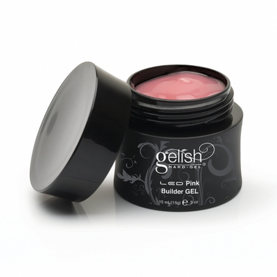 Gelish Hard Gel - Pink Builder Gel 0.5oz