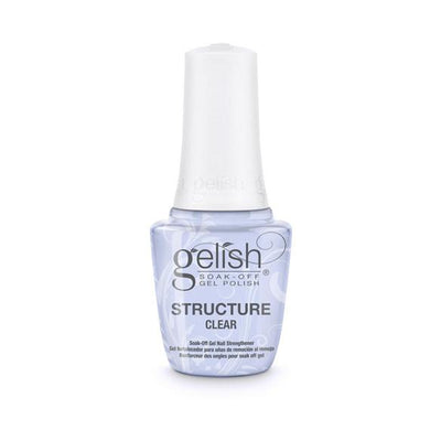 Gelish Soak Off Gel - Brush On Structure Gel Clear 0.5oz