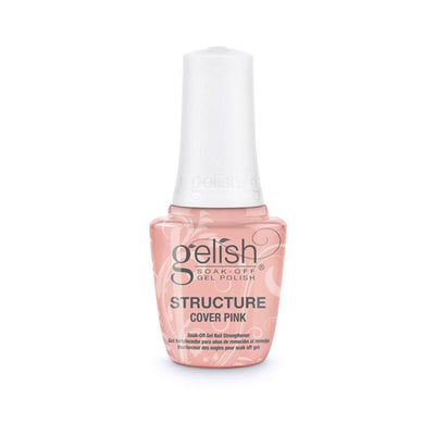 Gelish Soak Off Gel - Brush On Structure Gel Cover Pink 0.5oz