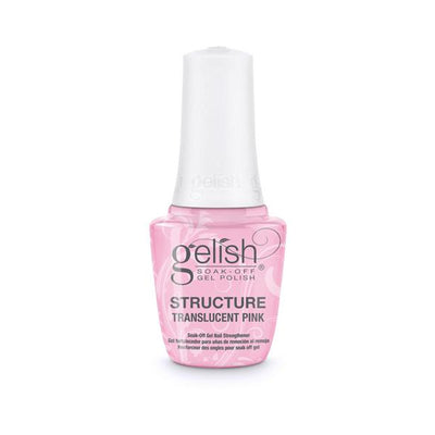 Gelish Soak Off Gel - Brush On Structure Gel Translucent Pink 0.5oz