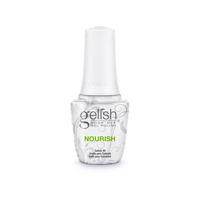 Gelish Soak Off Gel - Nourish Cuticle Oil 0.5oz