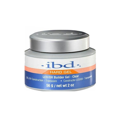 IBD New LEDUV Gel - Clear Builder 2oz
