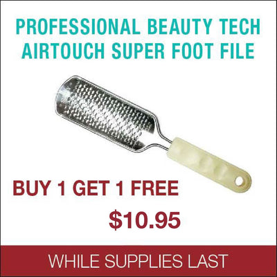 Professional Beauty Tech Aritouch Super Foot File - Buy 1 get 1 Free
