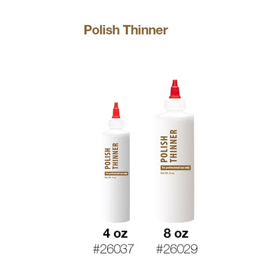 Cre8tion Plastic Bottle 'Polish Thinner'