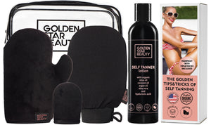 Self Tanner Lotion & Self Tanning Mitt Kit