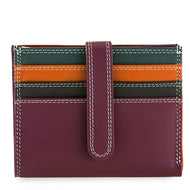 1222 Small Tab Wallet Card Chianti