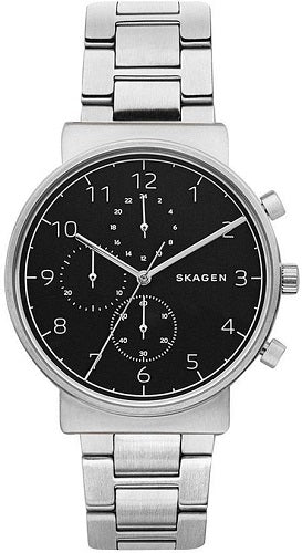 Skagen Ancher Stainless-Steel Watch SKW6360