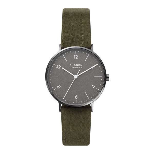 Skagen Aaren Naturals Gray Green Watch SKW6730