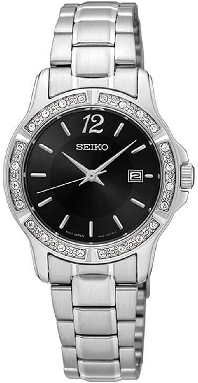 Seiko Ladies Swarovski Crystal Watch SUR719