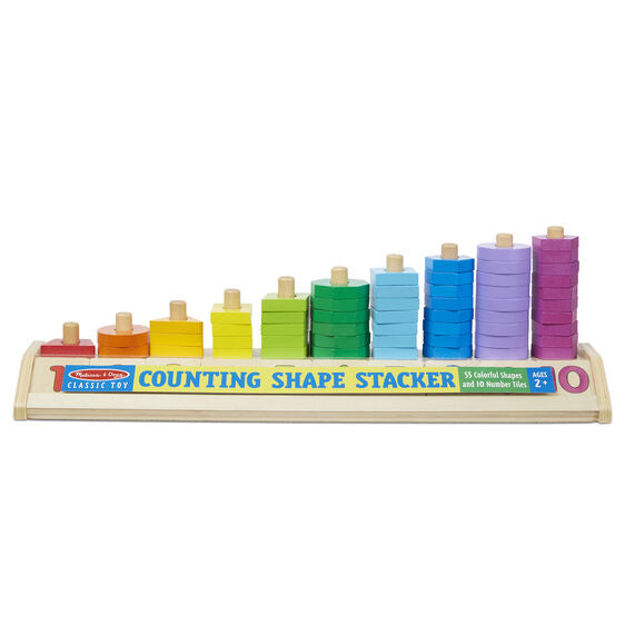 Load image into Gallery viewer, Melissa & Doug Counting Shape Sacker