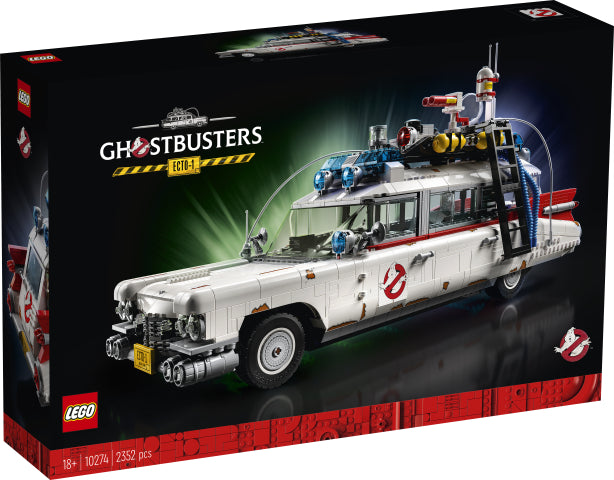 Load image into Gallery viewer, LEGO ART & Creator Expert 10274 Ghostbusters™ ECTO-1