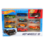 Hot Wheels Basic 10 Car Pack Assortment