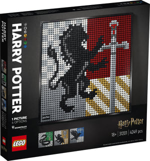 Load image into Gallery viewer, LEGO ART & Creator Expert 31201 Harry Potter™ Hogwarts™ Crests