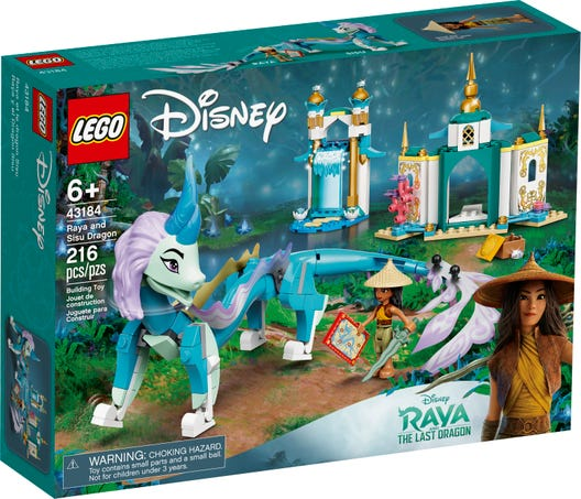 LEGO Disney Princess 43184 Raya and Sisu Dragon