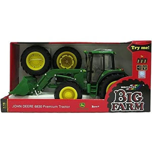 Load image into Gallery viewer, Tomy Britains Big Farm John Deere 6830 Premium Tractor