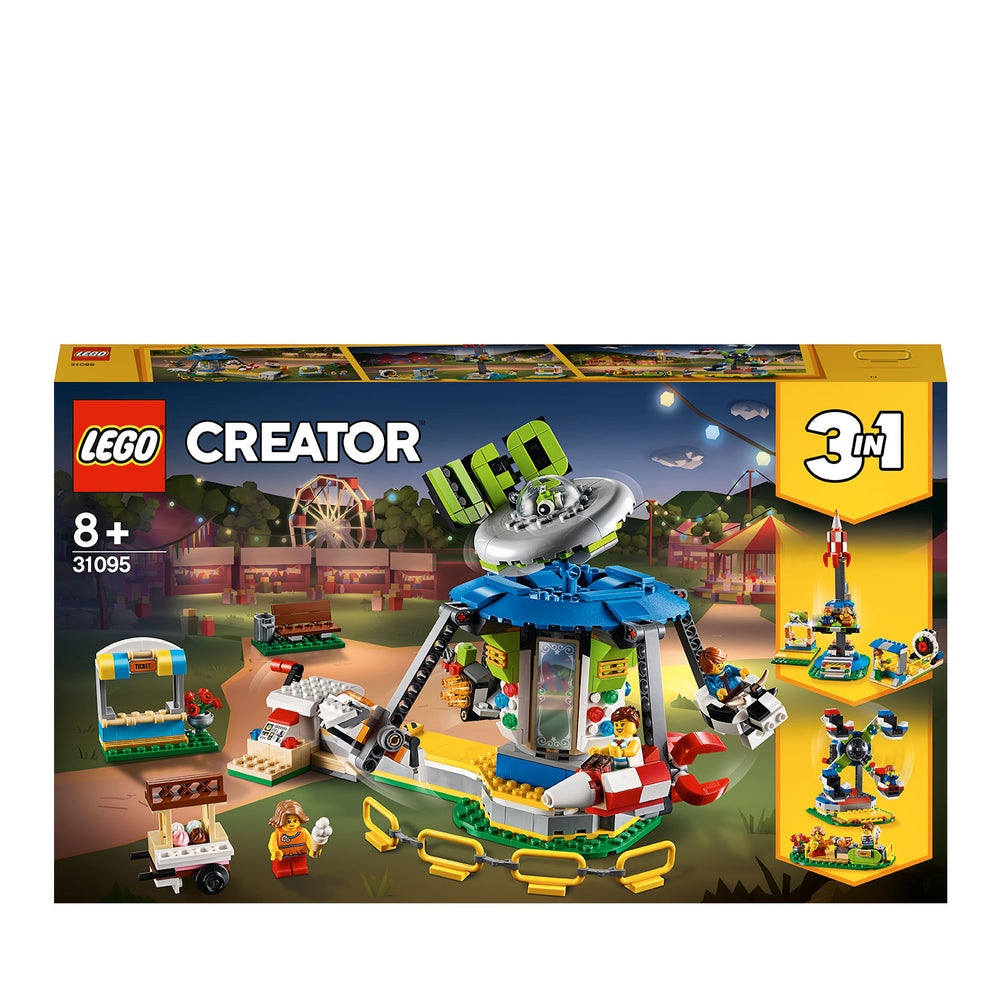 LEGO Creator 3in1 31095 Fairground Carousel Toy
