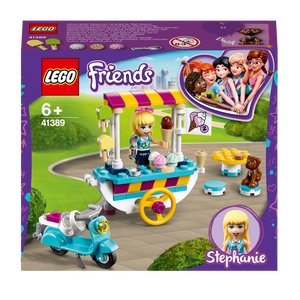 LEGO Friends 41389 Ice Cream Cart Playset with Stephanie
