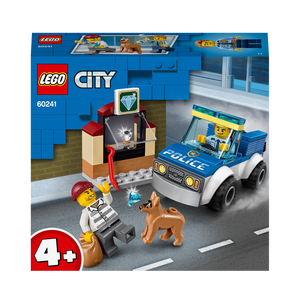 LEGO 4+ City 60241 Police Dog Unit Set