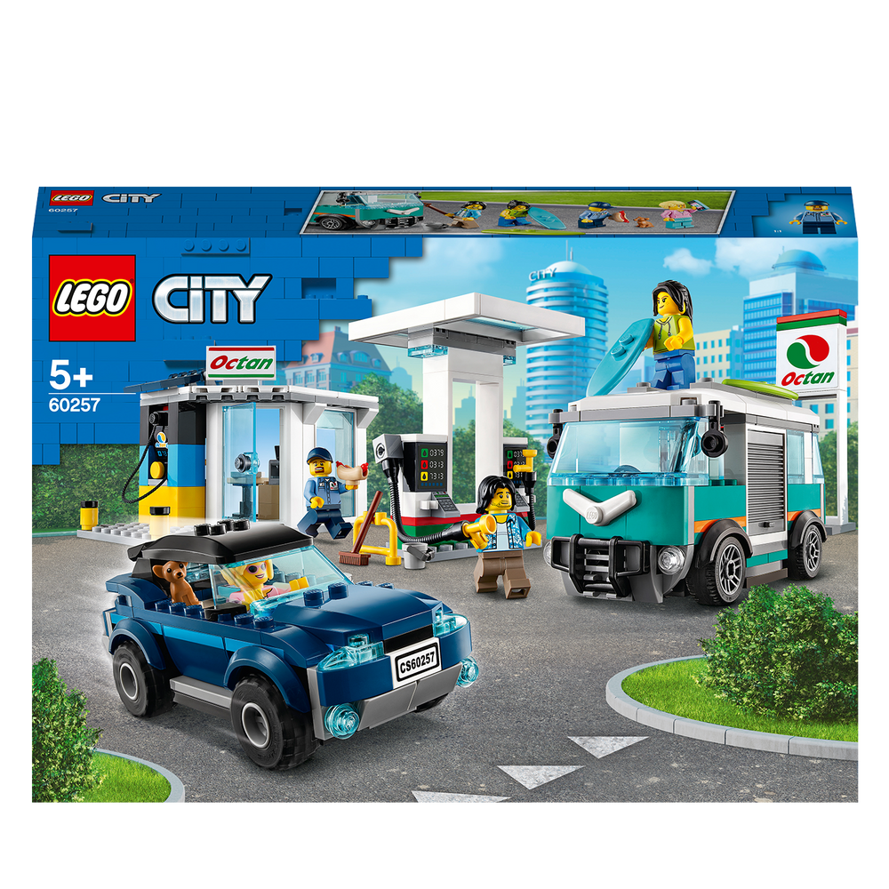 Load image into Gallery viewer, LEGO City 60257 Nitro Wheels Service Station Building Set
