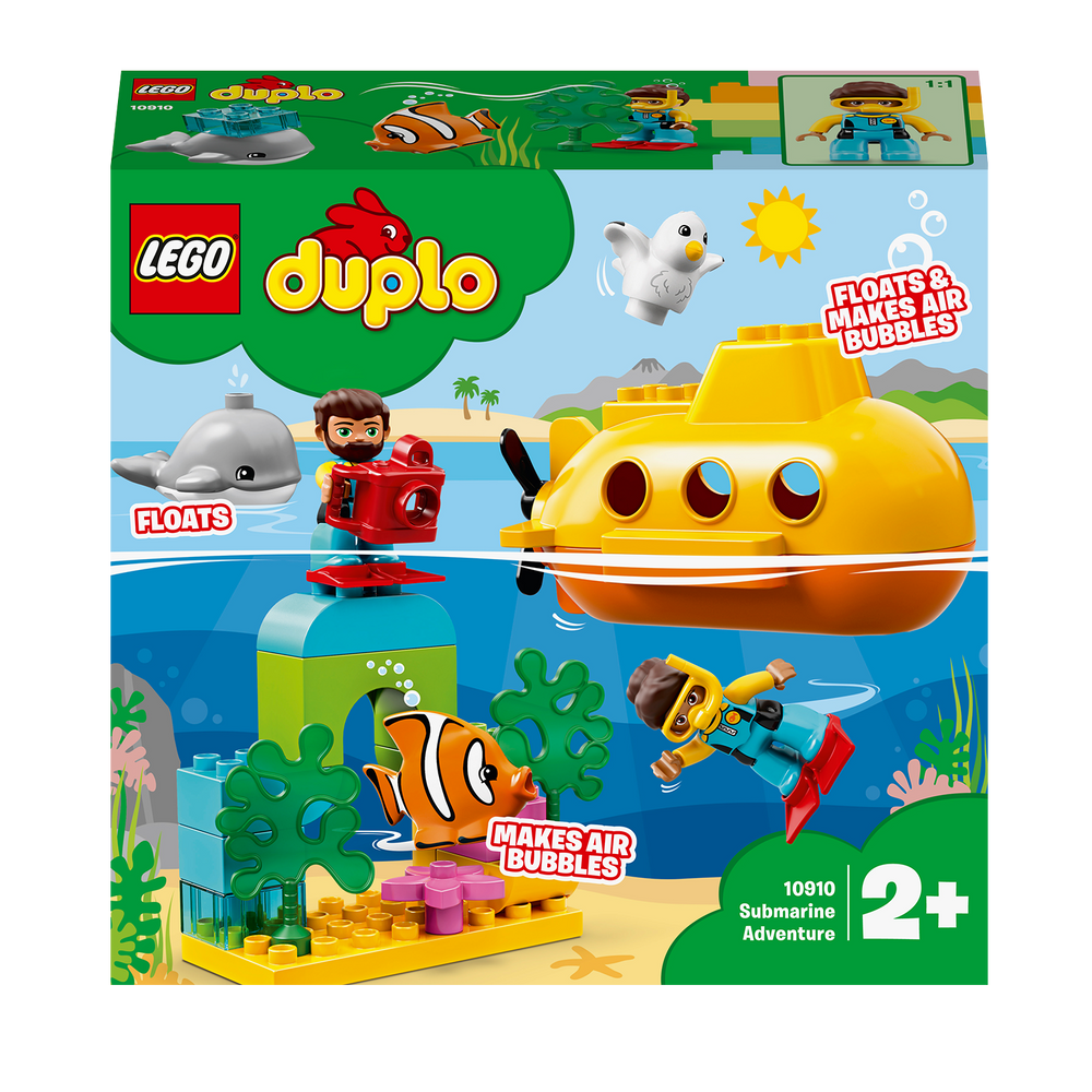 Load image into Gallery viewer, LEGO DUPLO 10910 Town Submarine Adventure Bath Toy