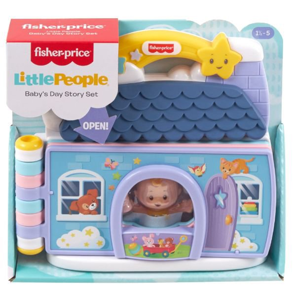Fisher-Price Little People Baby's Day Story Set