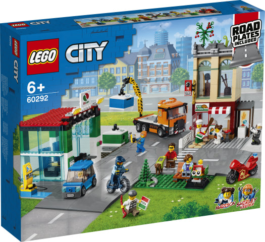 Load image into Gallery viewer, LEGO City 60292 Town Center