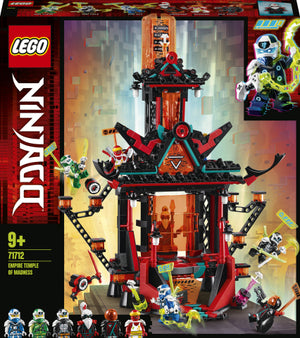LEGO NINJAGO 71712 Empire Temple of Madness Building Set with 6 Minifigures