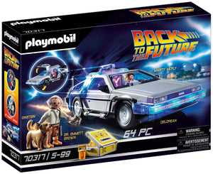Load image into Gallery viewer, Playmobil 70317 Back to the Future© DeLorean