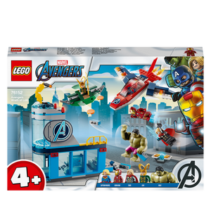 LEGO Avengers 76152 Super Heroes Wrath of Loki