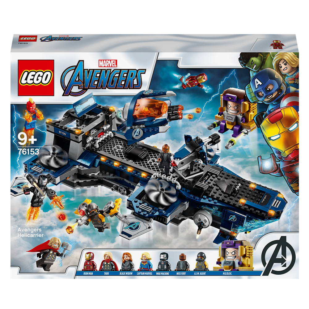 Load image into Gallery viewer, LEGO Avengers 76153 Helicarrier