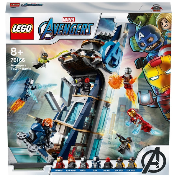 LEGO Avengers 76166 Tower Battle with Iron Man, Black Widow & Red Skull