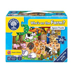 Orchard Who's on the Farm? Jigsaw Puzzle
