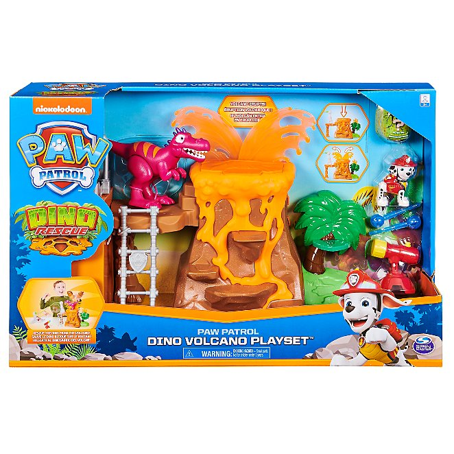 Load image into Gallery viewer, Paw Patrol Dino Volcano Playset