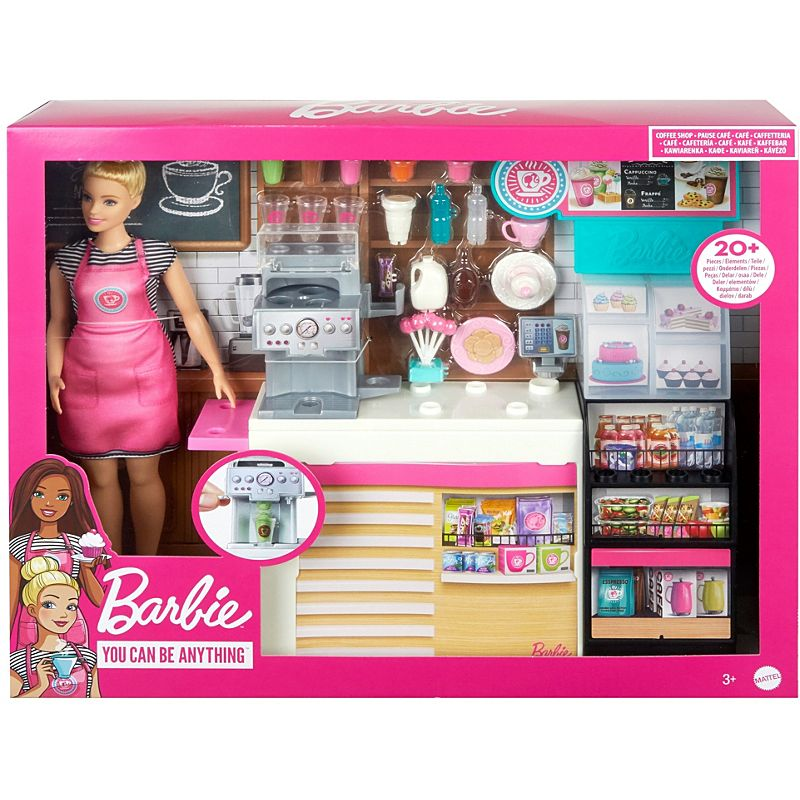 Barbie 'You Can Be Anything' Coffee Shop Doll